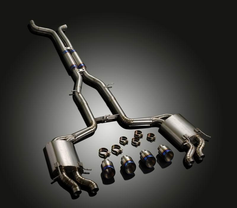 Mercedes benz c63 vip titanium exhaust system for Mercedes benz exhaust systems